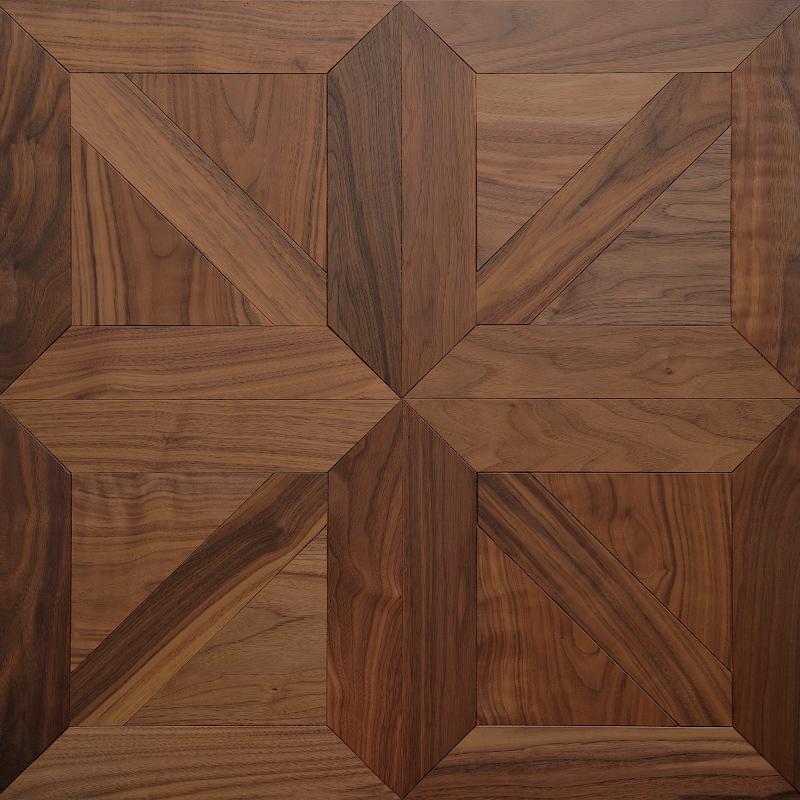 American walnut styled langeais mosaic timber floor